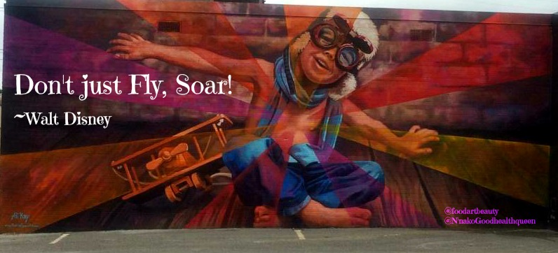 "F.A.B Mural of the Day  ""Don't Just Fly, Soar!"