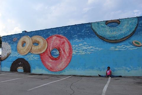 FAB TALK & Mural of the Day: Donuts & Tasty Beignets