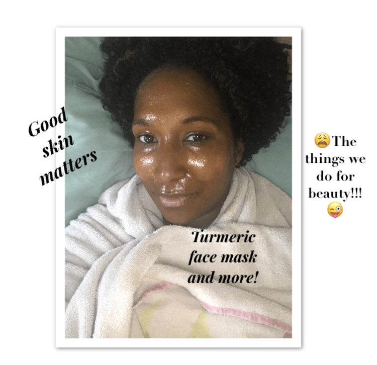 F.A.B Tuesday Tips: How to make a turmeric face mask and my natural beauty ritual before my book signing.